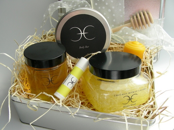 Honey and Body Care Gift Tin